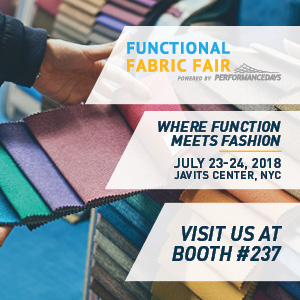 2018/07/ 23-24  Functional Fabric Fair
