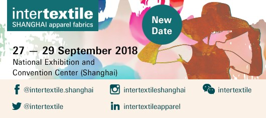2018 Intertextile Shanghai Apparel Fabrics  (Sep 27th - 29th)